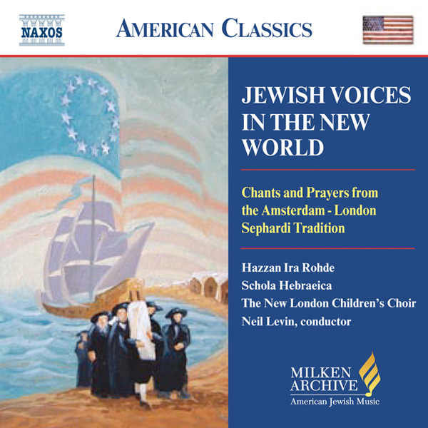 Jewish Voices in the New World album cover