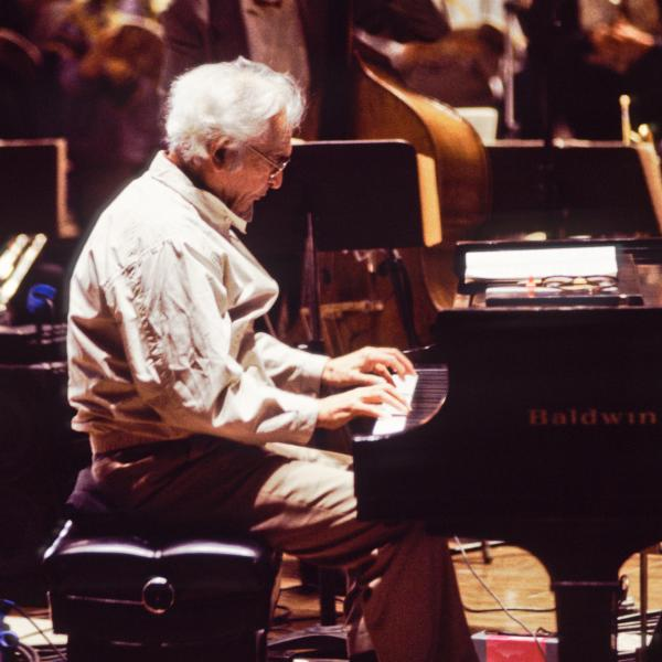 Dave Brubeck with Bassist Michael Moore