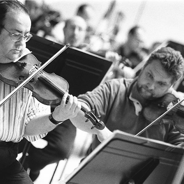 Members of the Barcelona Symphony